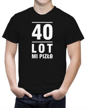 T-shirt na 40-te urodziny