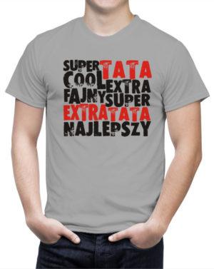 Koszulka Super Extra Cool Tata