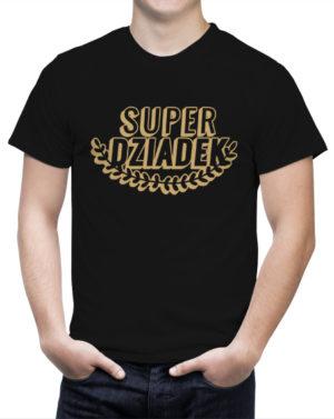Koszulka Super Dziadek Laur