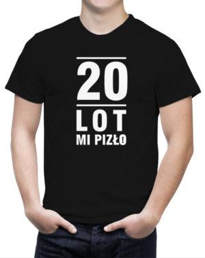 T-shirt 20 lot mi pizło