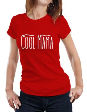 Koszulka z napisem Cool Mama