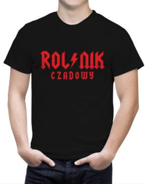 Koszulka dla rolnika z napisem Czadowy Rolnik