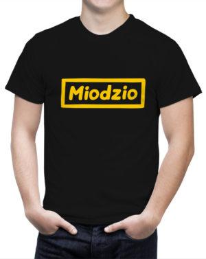 Prezent dla miłośnika pszczół Koszulka Miodzio