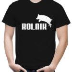 Koszulka z napisem Rolnik z kolekcji ROLNICTWO