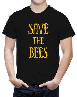 Prezent urodzinowy dla pszczelarza Koszulka Save the Bees